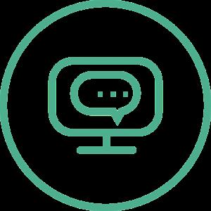 online media icon