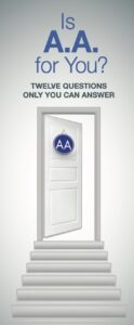Is AA For You? pamphlet