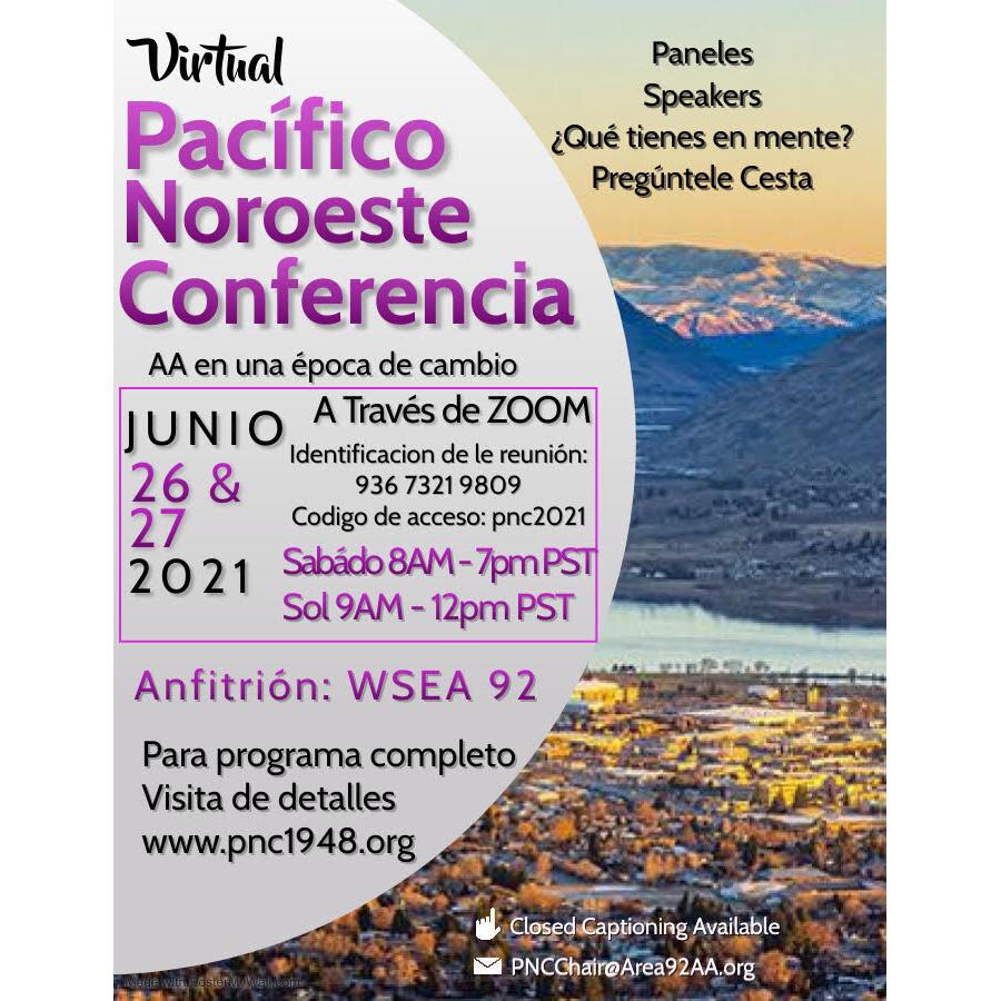 PNC 2021 - Spanish flyer